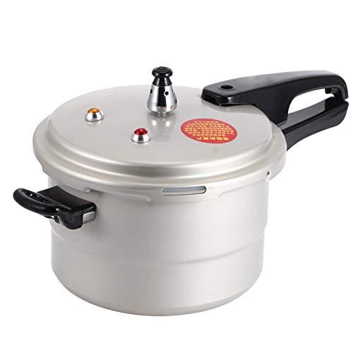 Explosionssäker tryckkokare, gryta skållskydd multifunktionellt handtag för elektrisk keramik för köttkrukor ånga stekning och matlagning (20 cm)