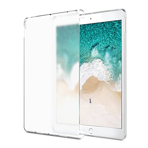 "MoKo Funda para New iPad Air (3rd Generation) 10.5"" 2019/iPad Pro 10.5 2017 - Ultra Delgado Trasera de Plástico Transparente Durable Smart Cover Parachoque - Blanco"