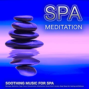 Spa Meditation: Soothing Music For Spa, Massage, Meditation, Yoga, Focus, Concentration, Mindfulness, Stress Relief, Anxiety, Deep Sleep Aid, Healing and Wellness