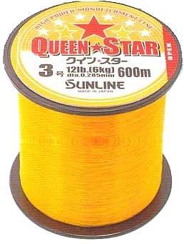 サンライン(SUNLINE) ナイロンライン クインスター 600m 10号 イエロー