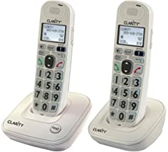 $93 » Clarity D702 Moderate Hearing Loss Cordless Phone with D702HS Expandable Handset