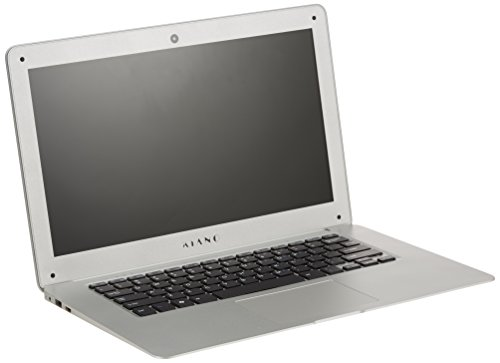 Kiano 5901821991575 35,81 cm (14,1 Zoll) Laptop (Intel Atom, 32GB Festplatte, 2GB RAM, Intel HD Graphics, Win 10 Home) silber