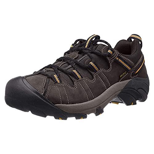 KEEN Men's Targhee II Hiking Shoe, Raven/Tawny...