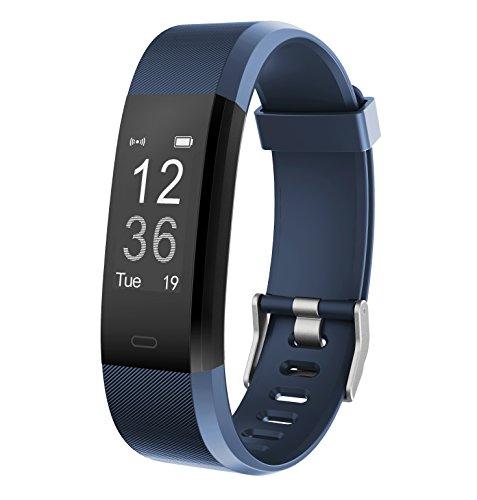 Monitor de Fitness Muzili YG3 Plus Pulsera Actividad Reloj Medidor Deportivo Inteligente Podómetro con monitor de ritmo cardíaco/GPS /Contador de pasos/Control del sueño para Android e iOS