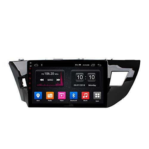 Navegador GPS Estéreo para Coche Android Unidad Principal De Radio para Toyota Levin 2013-2018 Soporte Mirror Link/SWC/Bluetooth/USB/WiFi/Dab/AUX