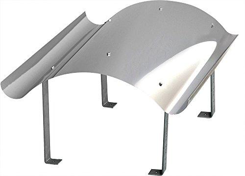Schornsteinabdeckung Kaminabdeckung Kaminhaube Regenhaube aus Edelstahl (700mm x 1000mm)