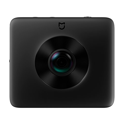 360 Camera, Xiaomi Mijia Mi Dual-Lens Sphere Action Cam WiFi Waterproof Panoramic Camera 3.5K HD Video Recording 23.88MP Photos with Sony Image Senor and Stabilizer