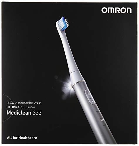 オムロン音波式電動歯ブラシ充電式HT-B323-SLホワイト
