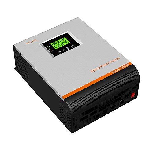 Inversor Onda Pura Multifunción 3000W 24V a 220V 50Amp Permite Panel Solar 100VDC Cargador 30Amp 3 En 1 3000w Continua Pico 6000w