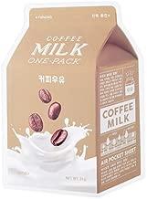 A'PIEU Coffee Milk Sheet Mask (6pc)