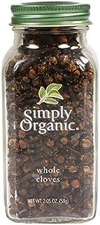 Simply Organic Whole Cloves, Certified Organic | 2.05 oz | Syzygium aromaticum (L.) Merr. & L.