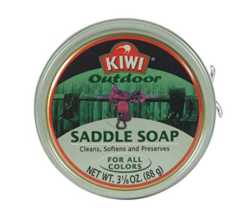 Set of 3 Kiwi 3-1/8 Oz Outdoor Saddle Soap bundled by Maven Gifts