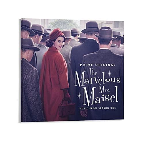 Marvelous Mrs Maisel, Staffel 1, Leinwandposter, Schlafzimmer, Dekoration, Sport, Landschaft, Büro, Raumdekoration, Geschenk, Rahmen, 50 x 50 cm