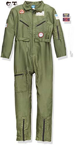 Top Gun Kostüm für Erwachsene mit Sonnenbrille,au, XL