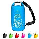 Dry Bag 2Liter 5Liter 10Liter 20Liter 30Liter & 40Liter Wasserdichte Trockentasche Seesack Survival Bag Trockensack - für Kajak Kanu Segeln Angeln Schwimmen...