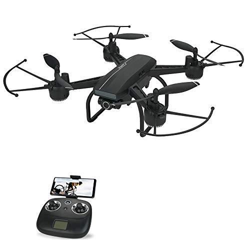GoolRC- JJRC H86 Drone con cámara Drone 4K 120 ° Cámara Gran Angular WiFi FPV RC Quadcopter Aititude Hold Modo sin Cabeza Selfie Drone para Adultos con 1 baterías Jugar más Tiempo