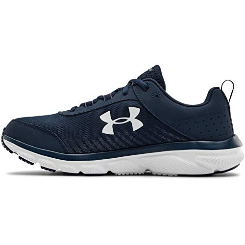 Under Armour mens Charged Assert 8 Running Shoe, Academy Blue (401 White, 7 US