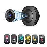 Mini cámaras espía, HD WiFi mini cámara deportiva DV cámara 1080p 720P con versión nocturna Micro DVR Control remoto Sensor de movimiento Cam Monitor para seguridad en el hogar