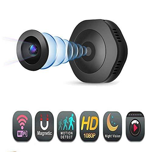 Mini telecamera spia, HD WiFi, mini fotocamera sport DV 1080p 720P con versione notturna Micro DVR telecomando sensore di movimento Cam monitor per la sicurezza domestica