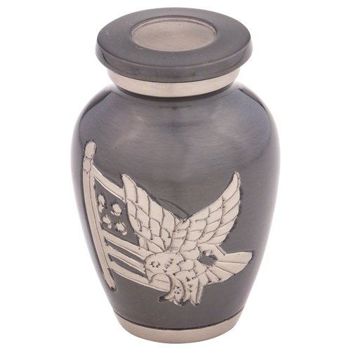 Silverlight Urns American Pride Keepsake Urn for Ashes