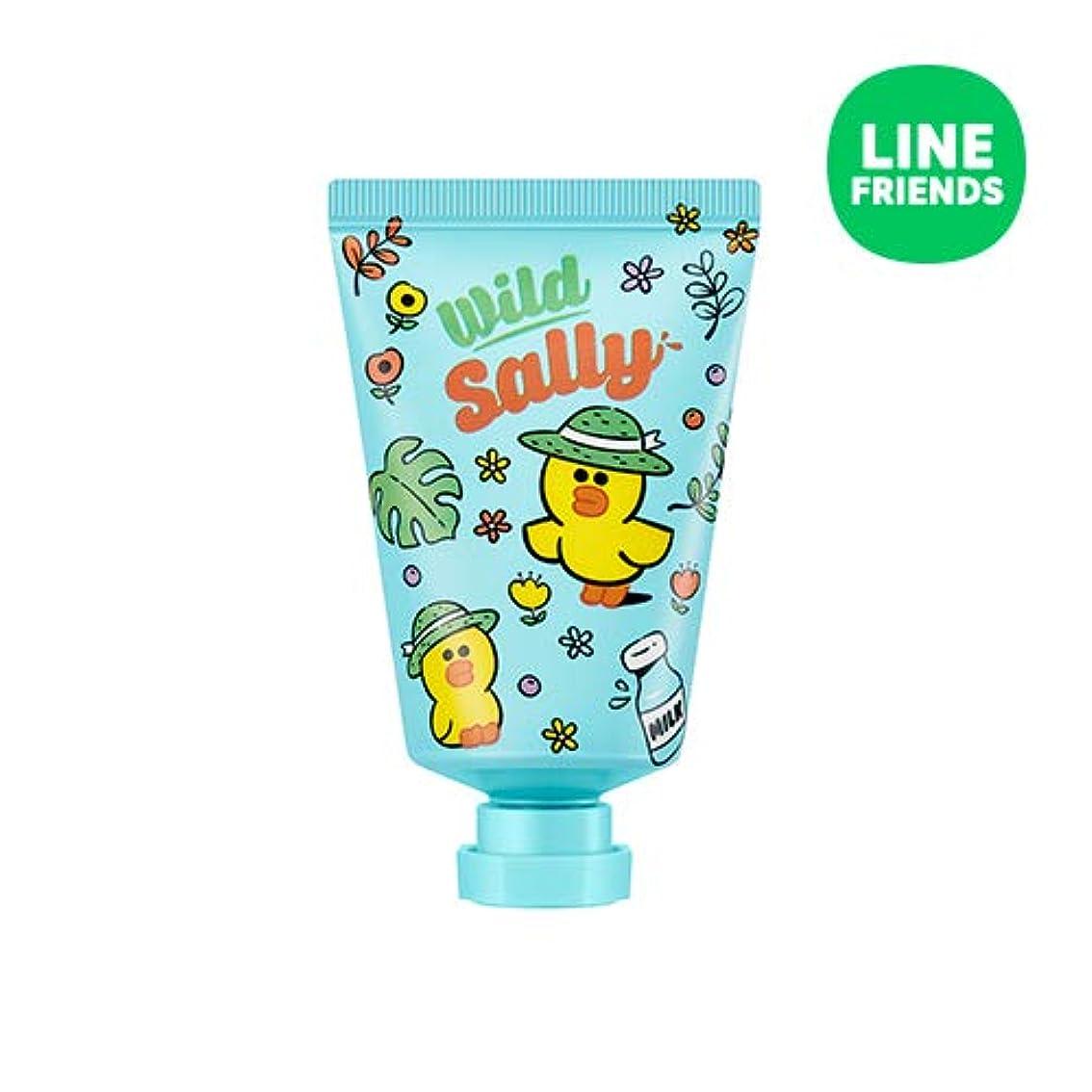 喜劇極めて重要なホテルミシャ(ラインフレンズ)ラブシークレットハンドクリーム 30ml MISSHA [Line Friends Edition] Love Secret Hand Cream - Sally # Cotton White [並行輸入品]