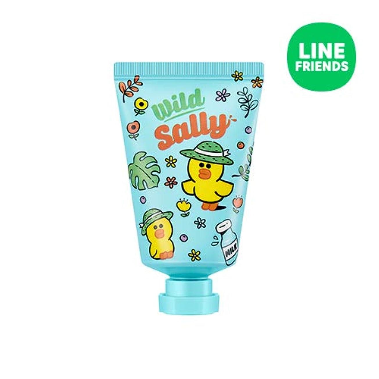 奇跡的なブラザー驚きミシャ(ラインフレンズ)ラブシークレットハンドクリーム 30ml MISSHA [Line Friends Edition] Love Secret Hand Cream - Sally # Cotton White [並行輸入品]