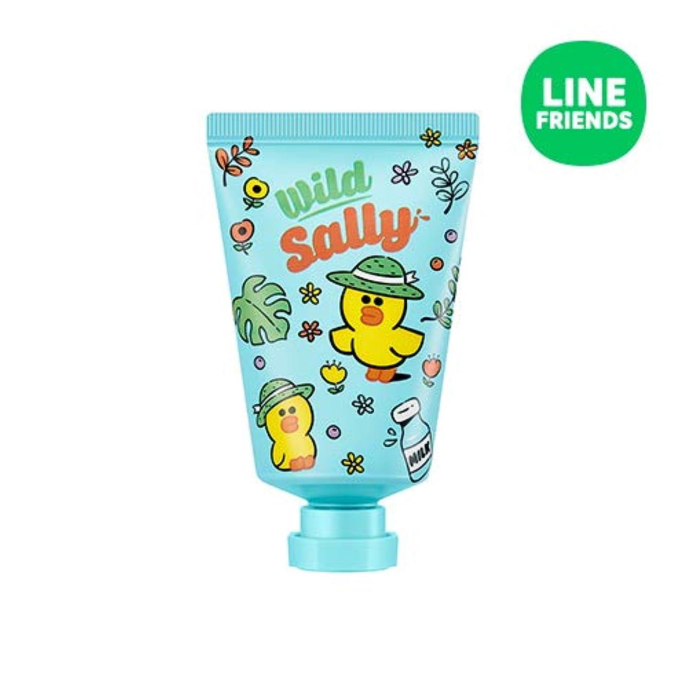 限り弾丸連帯ミシャ(ラインフレンズ)ラブシークレットハンドクリーム 30ml MISSHA [Line Friends Edition] Love Secret Hand Cream - Sally # Cotton White [並行輸入品]