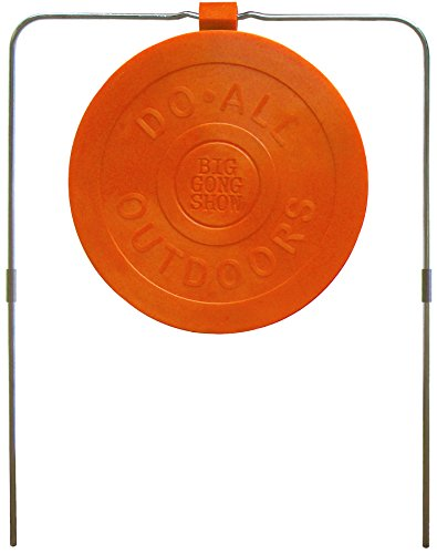 "Do-All Outdoors Big Gong Show 9"" Self-Healing Shooting Target Rated for .22-.50 Caliber"