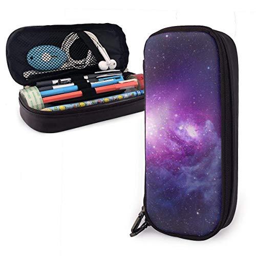 AOOEDM Estuche para lápices de gran capacidad, estuche para bolígrafos, organizador de papelería de almacenamiento grande, para útiles escolares, oficina, universidad (Fun Galaxy)