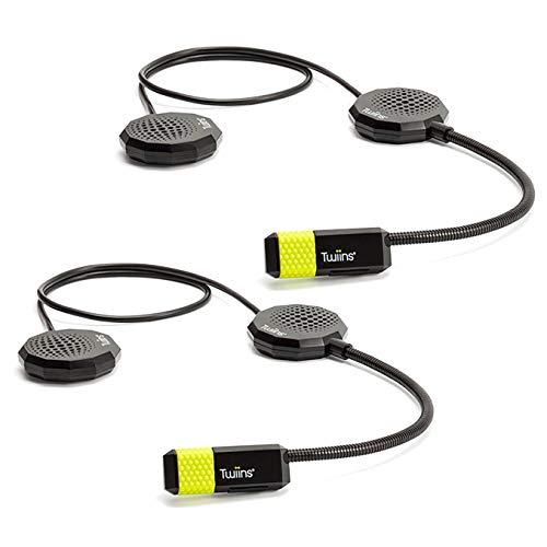 Twiins Interphone SMARTDUO HF3HF2 Pilota Pasajero Par Interfono Bluetooth 1