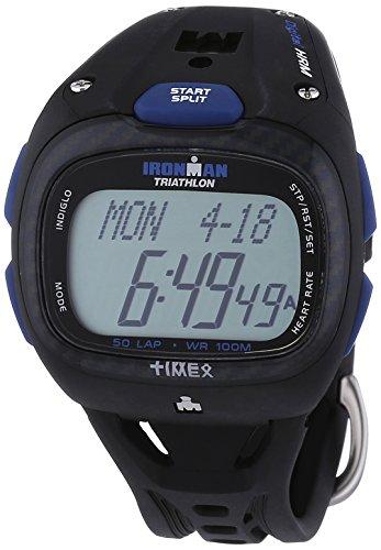 Timex Sport Unisex-Armbanduhr Herzfreuquenzmesser Digital Kautschuk T5K489