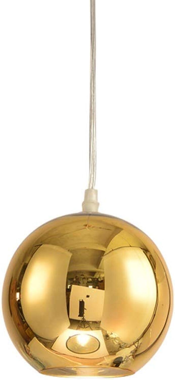 Karlson Licht Luxus E27 Kein Licht Durchsickern Gold Glas Kronleuchter Europischen Modernen Kreativen Einzelkopf Pendelleuchte Restaurant Bar Zhler Wohnzimmer Büro Dekorative Deckenleuchte