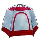 Tent de Camping Hexagonal Double Couche antipluie Grande d'alpinisme