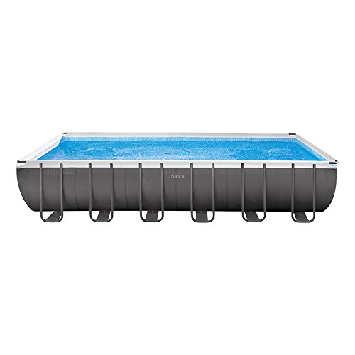 Intex Swimming-Pool-Rahmen 366x732x132 cm grau