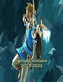 Agenda Zelda 2021 2022: agenda scolaire 2021 2022 ado avec calendrier | agenda 2021 2022 semainier a4 | planner agenda scolaire grand format adapter pour college et élèves