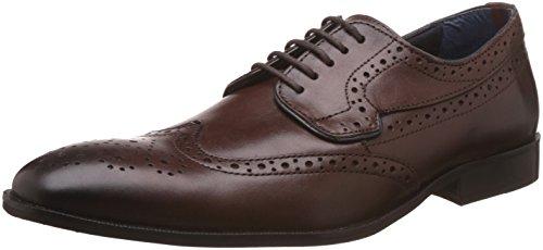 BATA Men's Alex Derby Brown Formal Shoes - 9 UK/India (43...