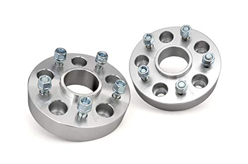 Rough Country 1.5' Wheel Spacers (fits) 2007-2018 Jeep Wrangler JK | 99-10 Grand Cherokee WJ WK | 6-10 XK | 5x5 | 1091