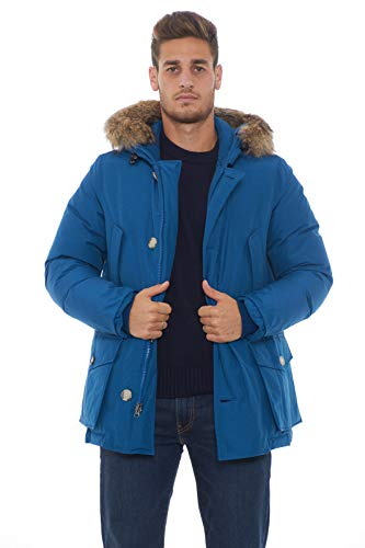 Woolrich Arctic Anorak Parka Herren Royal Blue-S