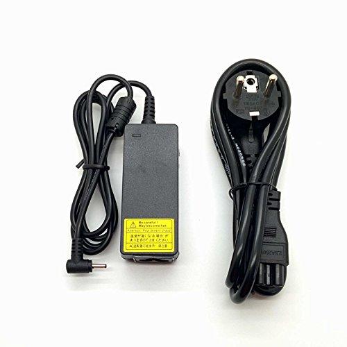 45w Adaptador Cargador Nuevo y Compatible para Portátiles ASUS Notebook Netbook EeePc de 19v 2,1a con Punta Fina 2,5mm x 0,7mm