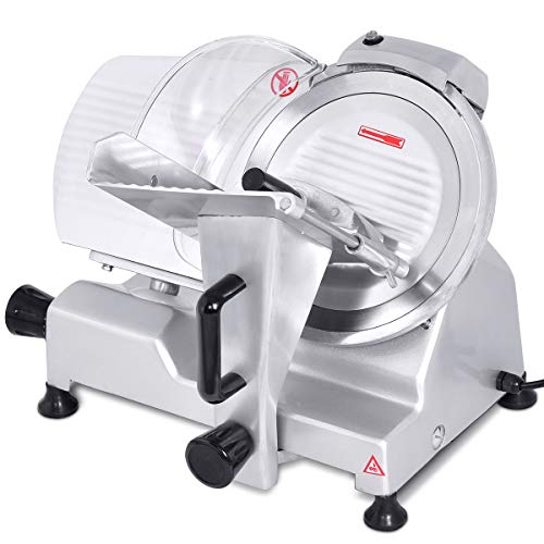 Giantex 10' Blade Commercial Meat Slicer Deli Meat Cheese Food Slicer Industrial Quality