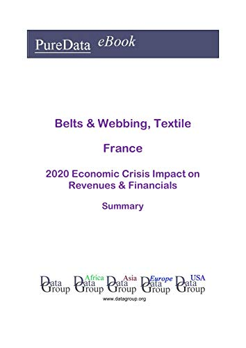 Belts & Webbing, Textile France Summary: 2020 Economic Crisis Impact on Revenues & Financials (English Edition)
