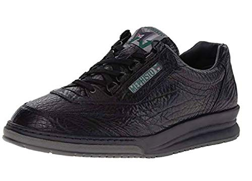 Mephisto Men's Match Walking Shoe,Black,9.5 M US