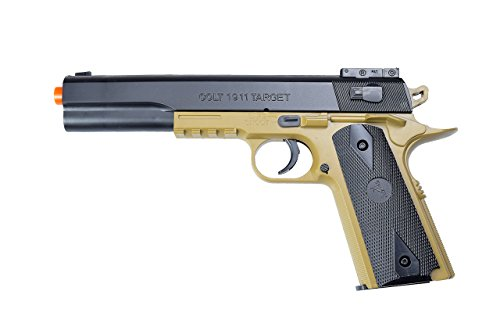 Colt Soft Air 1911 Spring Airsoft All-In-One Pistol Kit, Multi-Color, 1.6 LBS (180191)