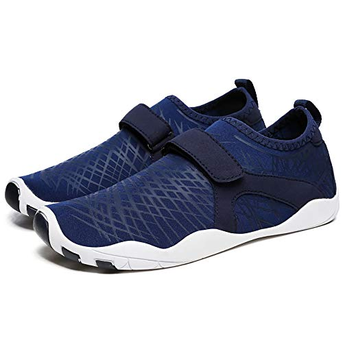 WHSS Zapatos de Playa Los Zapatos de Playa for el Verano se Deslizan fácilmente for Absorber los Zapatos de natación Zapatos Deportivos al Aire Libre Zapatos Anti-Corte Multi-tamaño (Azul)