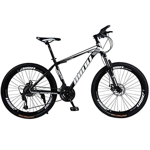 QCLU 26 Suspensión de Luz y de 21 velocidades Shimano Frenos de disco pulgadas de bicicletas con un tenedor Rígidas MTB,Trekking Hombres bicicletas Bike Girls,suspensión completa de bicicletas de mont