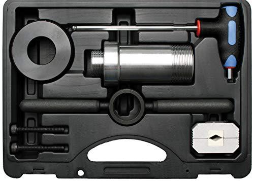 BGS 8877 | Stoßdämpfer-Werkzeug-Satz | für Stoßdämpfer mit Zuganschlagsfeder | 8-tlg