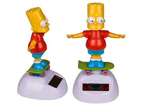 OOTB Bart Simpson Wackelfigur The Simpsons Solarfigur Serie TV Comic Skateboard Kult