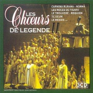 Coffret 3 CD : Choeurs de légende Vol. 2
