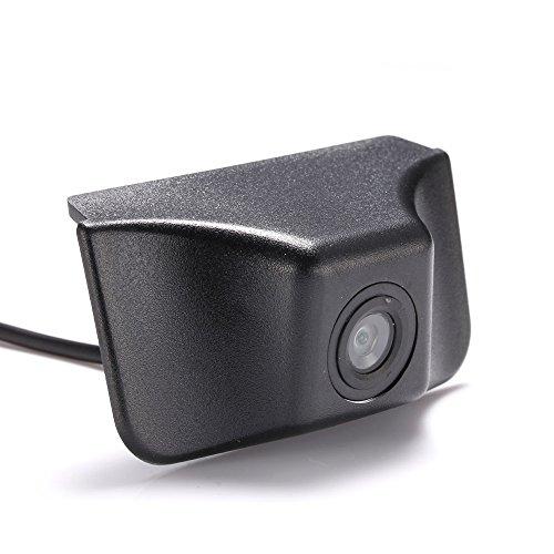 HDMEU Véhicule Spécifique à Un Véhicule Vue Avant Logo Système de Stationnement Intégré avec CCD Imperméable à l'eau IP67 Grand Degré (Moyen) pour 016/2017 front view camera for Jeep Cherokee
