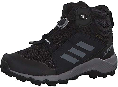 adidas Terrex Mid GTX Kinderschuh Black Grey Three Black 36